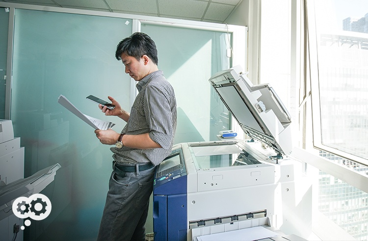 Paperless might still be a pipe dream, but paper-less and increased productiviy aren't - all thanks to your digital copiers.