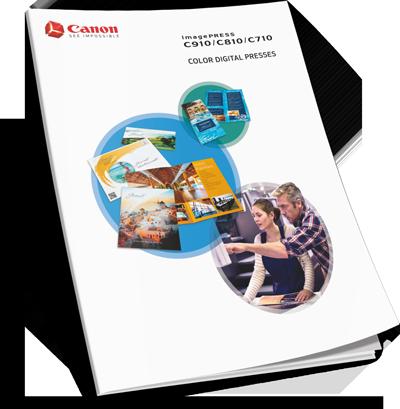 Download Canon imagePRESS C710 Production Print Brochure