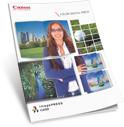 Canon imagePRESS C650 | Production Print | Datamax Arkansas