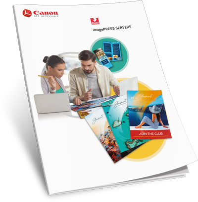 Download Canon imagePRESS Fiery Servers Brochure