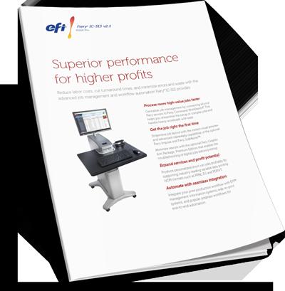 Download EFI Fiery IC-313 Print Server Brochure