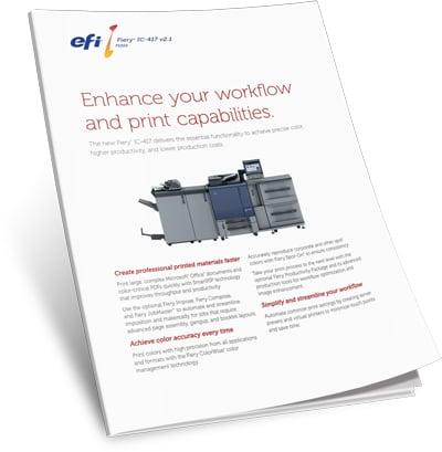 Download EFI Fiery IC-417 Print Controller Brochure
