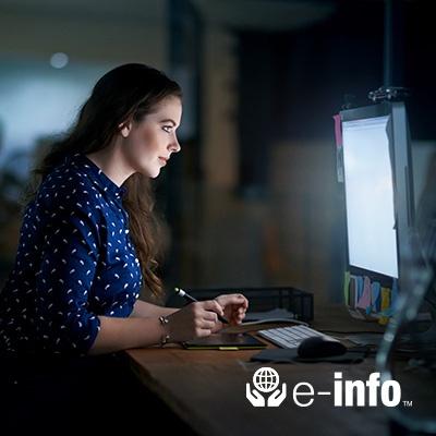 e-info Datamax Online Customer Portal