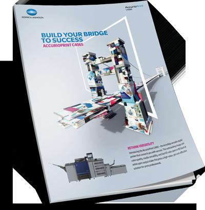 Download Konica Minolta AccurioPress C4065 Brochure