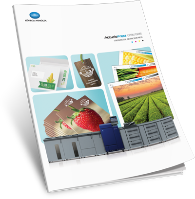 Download Konica Minolta AccurioPress C6100 + C6085 Brochure