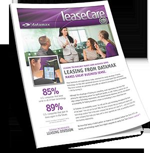 Datamax LeaseCare Brochure