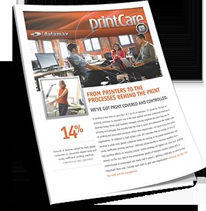 Datamax PrintCare Brochure