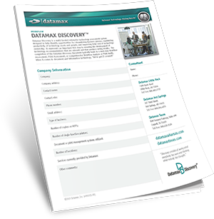 Datamax Workfllow Assessment Brochure