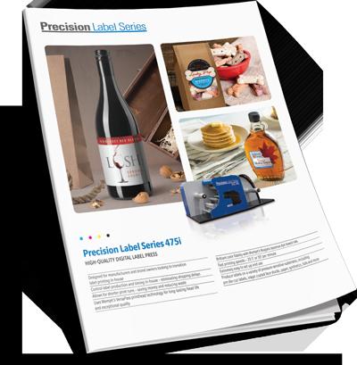 Download Precision Series Digital Label Press 475i Brochure