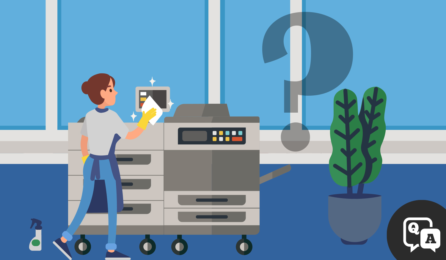 Datamax How to sanitize office equipment